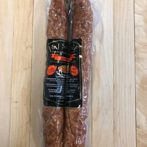 Double smoked garlic mennonite farmer-sausage