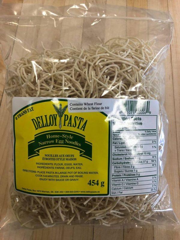 Bag of homestyle Narrow egg noodles