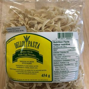 Bag of homestyle wide egg noodles
